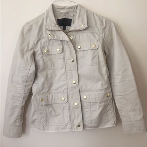 J. Crew Jackets & Coats - J.Crew cream downtown field jacket XXS